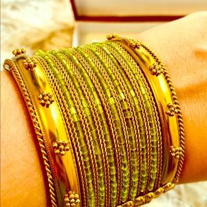 Gorgeous, Bollywood inspired gold plated Bracelet
